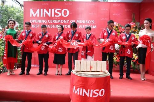 Thương hiệu bán lẻ Miniso chính thức có mặt tại Việt Nam