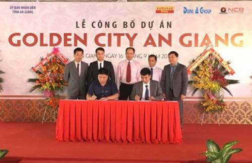 NCB tài trợ cho vay độc quyền Dự án Golden City An Giang