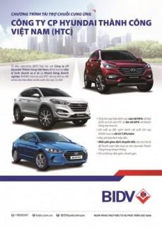 BIDV hợp tác tài trợ chuỗi cung ứng của Công ty Hyundai Thành Công Việt Nam