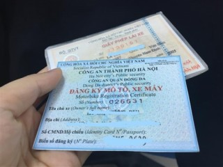 Hướng dẫn cấp Giấy biên nhận giữ bản chính Giấy đăng ký xe đang thế chấp tại TCTD