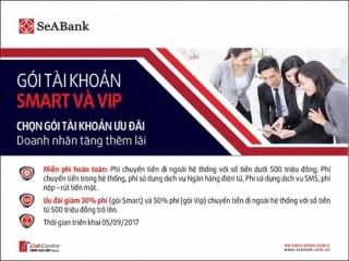 SeABank triển khai sản phẩm Smart và VIP cho doanh nghiệp