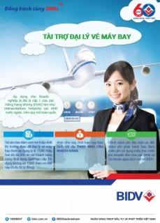 BIDV ra mắt sản phẩm dành riêng cho đại lý vé máy bay với nhiều ưu đãi