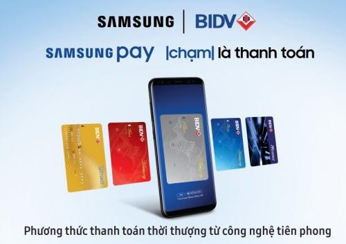 Cơ hội nhận sạc dự phòng khi trải nghiệm Samsung pay cùng BIDV