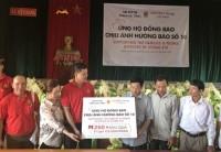 Central Group Việt Nam trao 500 suất quà cho bà con vùng bão