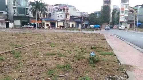Giá khởi điểm Khu đất đấu giá Phú Lương 2 (Hà Đông) cao nhất là 33,8 triệu đồng/m2