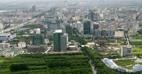 Phân khu đô thị H2-1 được xây nhà cao tối đa 36 tầng và 1 tầng mái