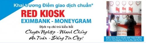 """Eximbank khai trương Điểm giao dịch chuẩn """"Red Kiosk"""" tại TP. Tuy Hòa"""