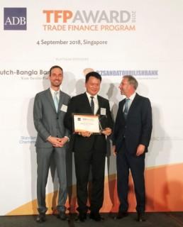 VIB được ADB vinh danh trong lĩnh vực tài trợ thương mại