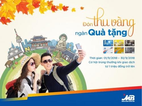Cơ hội trúng chuyến du lịch Hàn Quốc khi thanh toán bằng thẻ tín dụng