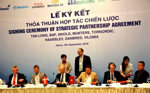Việt Nam và Đan Mạch đẩy mạnh hợp tác trong sản xuất nông nghiệp