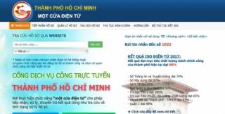 TP.HCM: Tích hợp dữ liệu vào hệ thống Một cửa điện tử chung