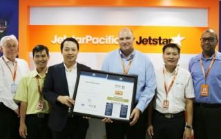 Hệ thống vận hành an toàn Jetstar Pacific được công nhận trên toàn cầu