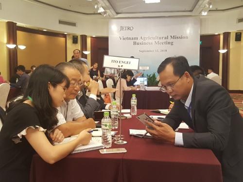 Kết nối doanh nghiệp Nhật Bản – Việt Nam trong nông nghiệp
