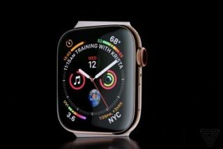 Apple Watch Series 4:  Thiết kế mới, tùy biến mạnh mẽ