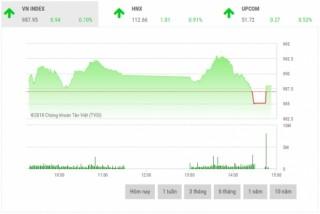 Chứng khoán chiều 13/9: VN-Index chưa thể chinh phục mốc 990 điểm