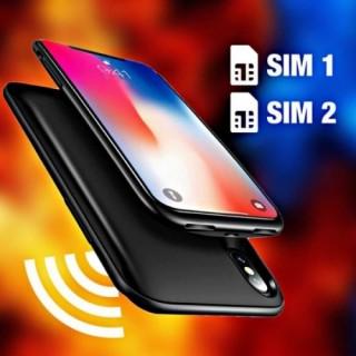 Phụ kiện biến iPhone X thành smartphone 2 sim, tích hợp ghi âm cuộc gọi