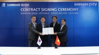 Ngân hàng Shinhan ra mắt thẻ Samsung Pay tại thị trường Việt Nam
