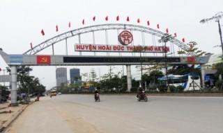 Hà Nội lập Ban chỉ đạo xây dựng huyện Hoài Đức thành quận