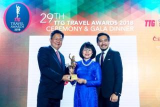 Vietravel nhận giải thưởng TTG Travel Awards