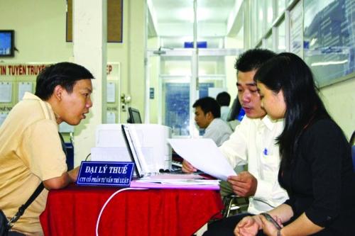 Cho đại lý thuế làm dịch vụ kế toán?
