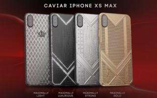 Caviar ra mắt 'bộ sưu tập' iPhone XS Max sang chảnh với 4 tùy chọn vàng, carbon, kim cương, titanium