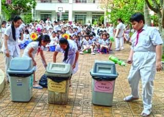 Năm học mới 2019 – 2020: Trường học nói không với rác thải nhựa