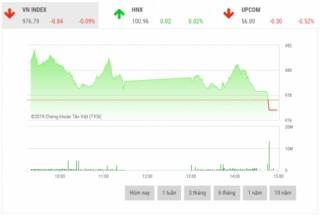Chứng khoán chiều 5/9: Cổ phiếu vốn hóa lớn phân hóa mạnh