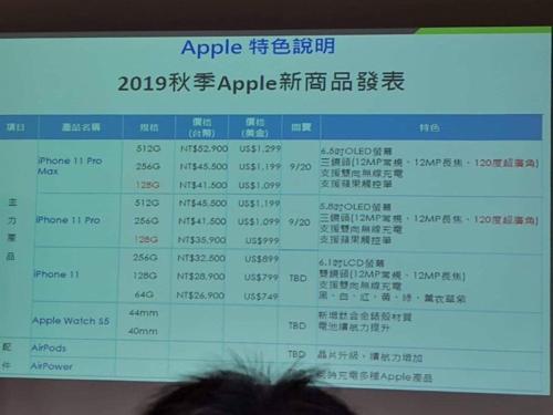 Lộ giá bán iPhone 11: Thấp nhất 749 USD