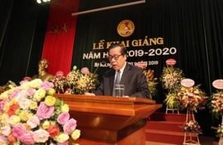 Phó Thống đốc Nguyễn Kim Anh dự Lễ khai giảng năm học 2019-2020 tại Học viện Ngân hàng