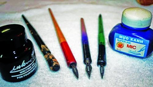 Bút mực thuở nào