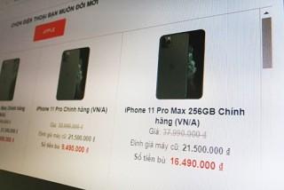 Dịch vụ đổi iPhone cũ lấy iPhone 11 nở rộ