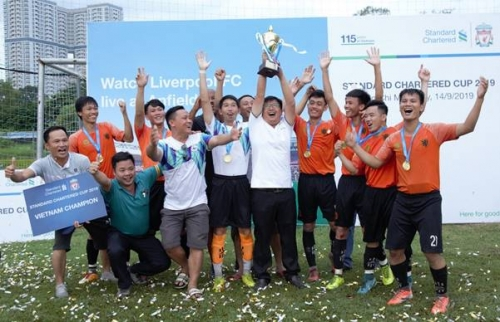 Hyosung Việt Nam vô địch Cúp Standard Chartered 2019
