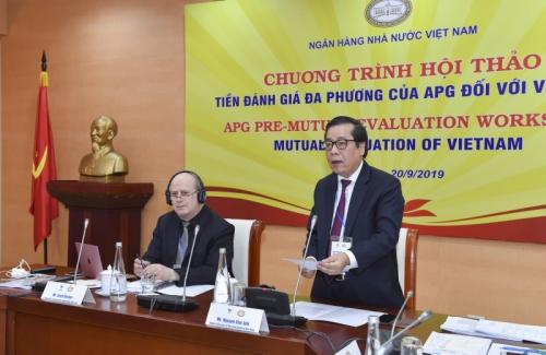 Chuẩn bị cho đánh giá đa phương cơ chế phòng, chống rửa tiền, tài trợ khủng bố của Việt Nam