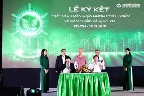 LienVietPostBank bắt tay với công ty phần mềm mở rộng thị phần Ví Việt