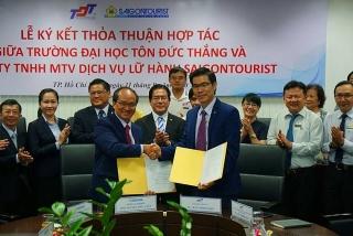 Lữ hành Saigontouristliên kết các trường đại học đào tạo nguồnnhân lực du lịch chất lượng cao