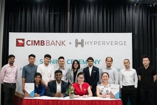 Ngân hàng CIMB hợp tác với HyperVerge ứng dụng công nghệ trí tuệ nhân tạo vào định danh khách hàng