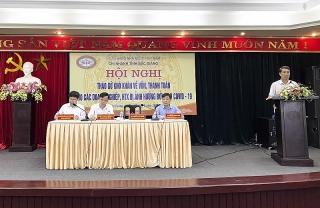 Bắc Giang:Tháo gỡ khó khăncho các doanh nghiệp, hợp tác xã bị ảnh hưởng bởi dịch Covid-19