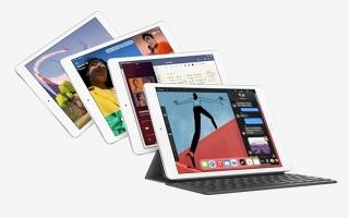 iPad 2020 nâng cấp vi xử lý, giá từ 329 USD