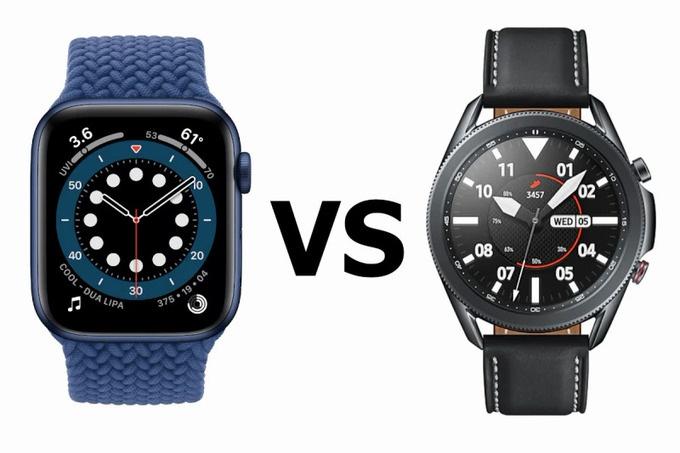 apple watch series 6 do suc samsung galaxy watch 3