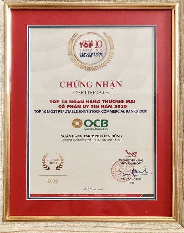 ocb duoc vinh danh trong bang xep hang fast 500 va top 10 ngan hang