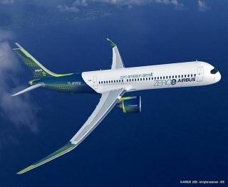 Airbus giới thiệu ý tưởng máy bay không khí thải mới
