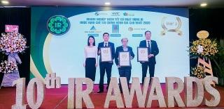 Tập đoàn Đất Xanh lập cú đúp giải thưởng tại IR Awards 2020