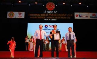 NCB lọt Top 10 thương hiệu mạnh quốc gia 2020