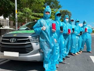Panasonic hợp tác Grab Việt Nam cung cấp không khí sạch trên GrabCar Y tế
