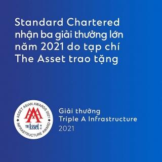 Standard Chartered được ghi nhận đóng góp cho phát triển bền vững