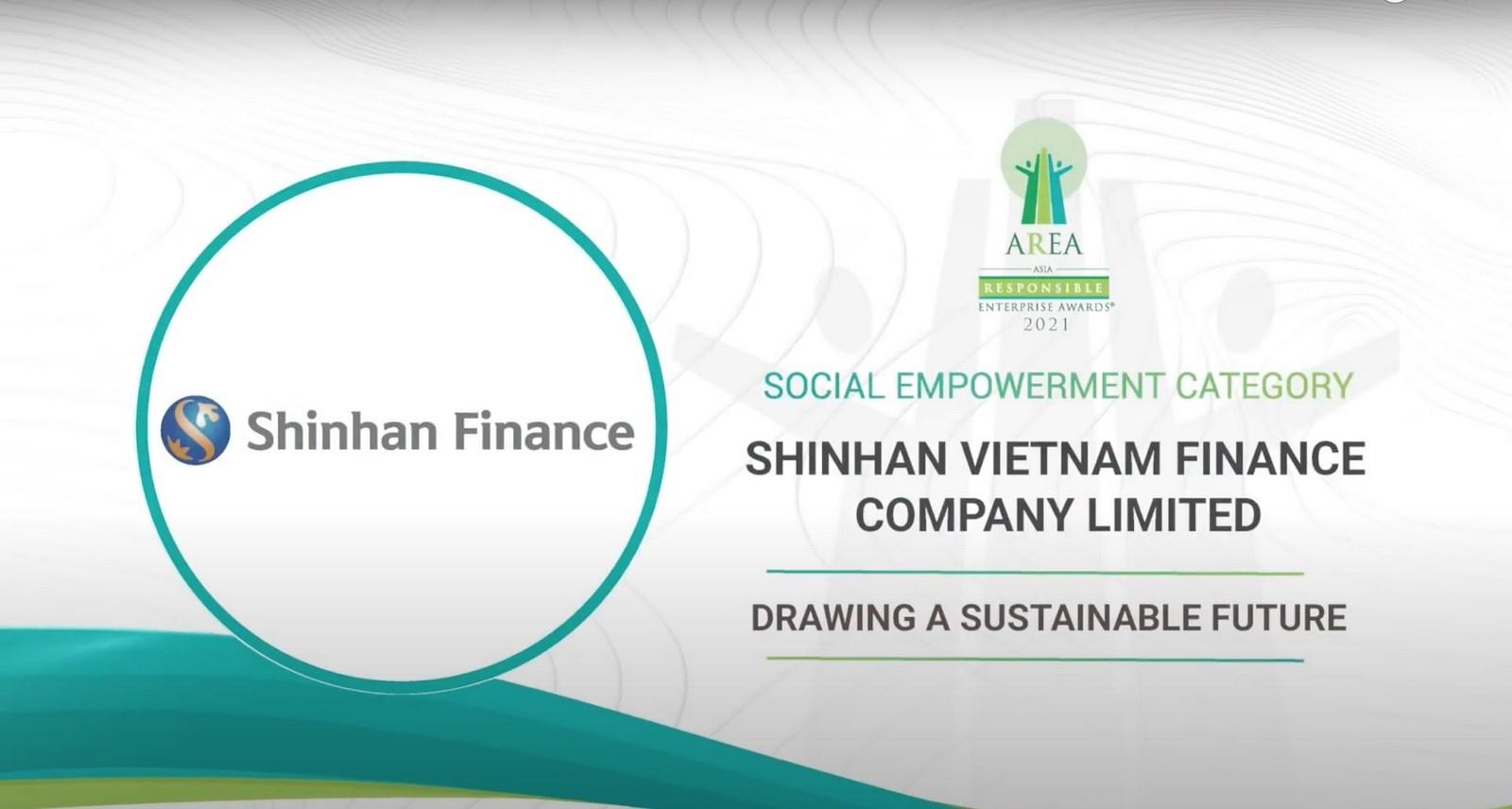 shinhan finance duoc vinh danh doanh nghiep trach nhiem chau a 2021