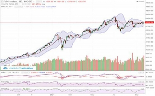 Mid-cap và penny giảm sâu, VN-Index tăng nhẹ hơn 2 điểm