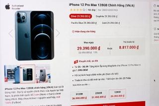 iPhone thế hệ cũ giảm giá 4 triệu đồng