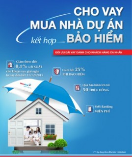 VietinBank ưu đãi khách hàng vay mua nhà dự án kết hợp bảo hiểm