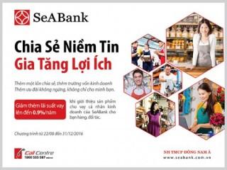 """SeABank triển khai chương trình """"Chia sẻ niềm tin – Gia tăng lợi ích"""""""